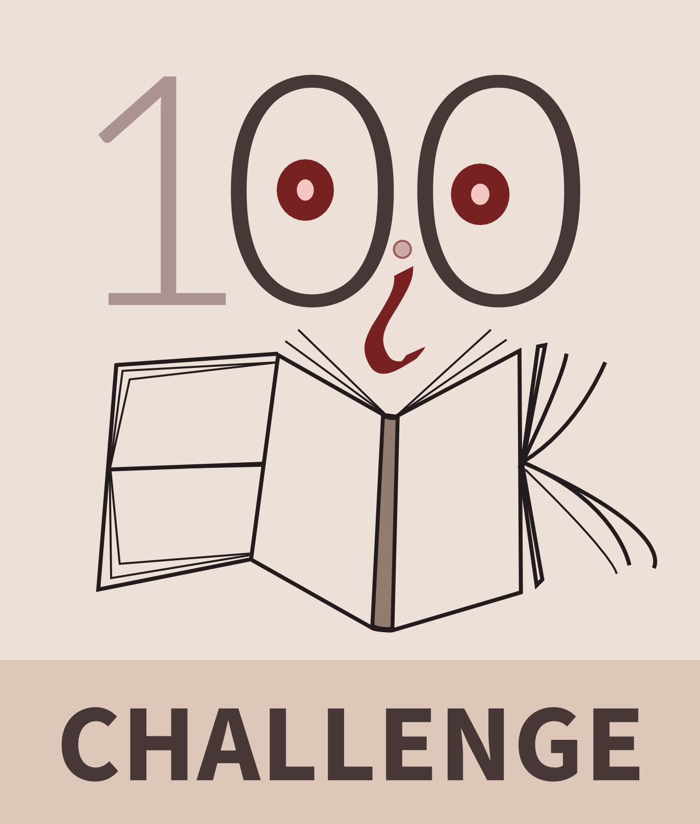 Book challenge clipart vector transparent What I learned by reading 100 books in a year — The Autodidacts vector transparent