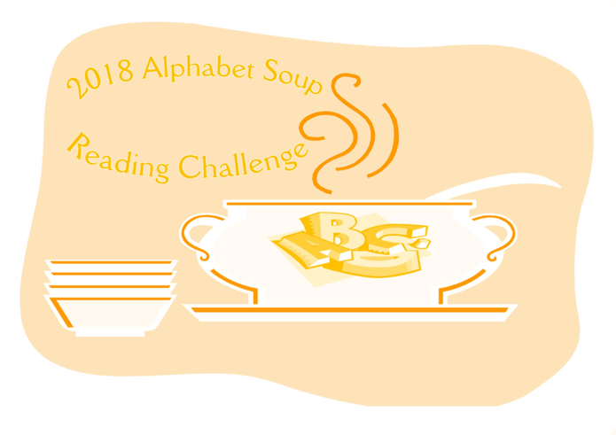 100 book challenge clipart image black and white library 2018 Alphabet Soup Reading Challenge - Escape With Dollycas Into A ... image black and white library