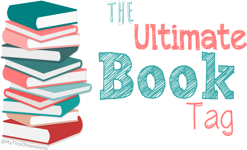 100 book challenge clipart picture black and white The Ultimate Book Tag – My Tiny Obsessions picture black and white