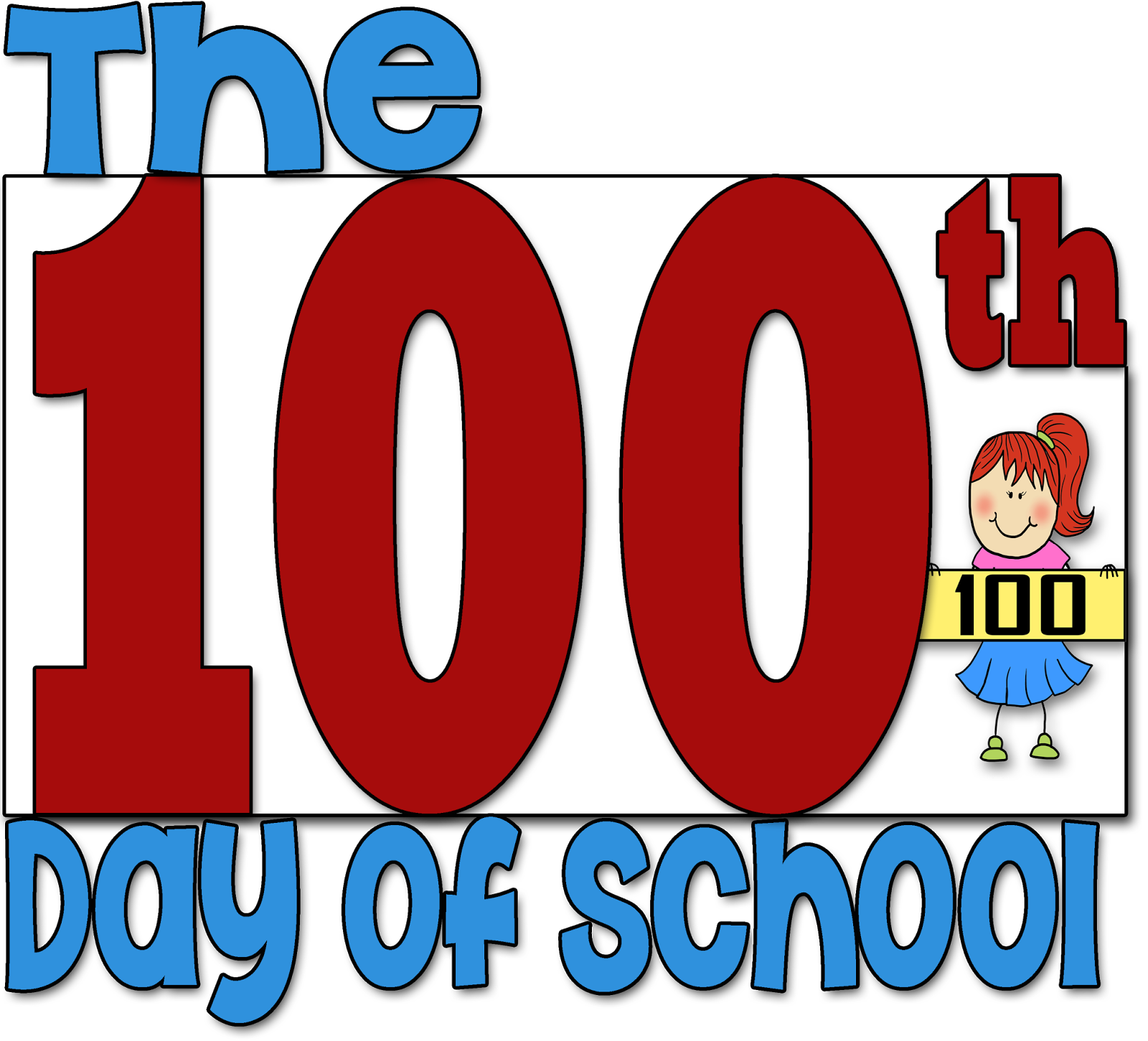 Clipart 100th day vector royalty free stock 100 days clip art clipart images gallery for free download | MyReal ... vector royalty free stock