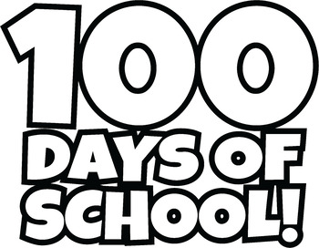 Clipart 100th day graphic royalty free library FREE 100 Days of School Clipart / Happy 100th Day of School Clip Art! graphic royalty free library