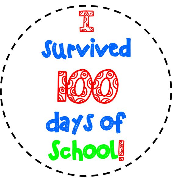 100 day clip art svg black and white stock 17 Best images about School Wrk | 100th day of school, Make ... svg black and white stock