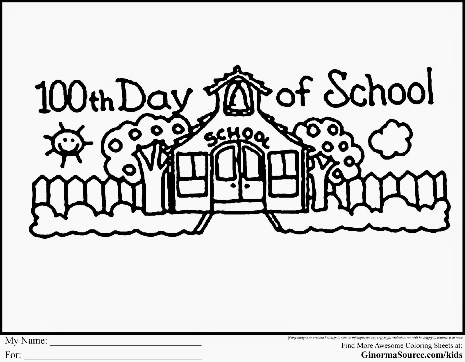 100 day clip art image black and white download 100th day clipart black and white - ClipartFox image black and white download
