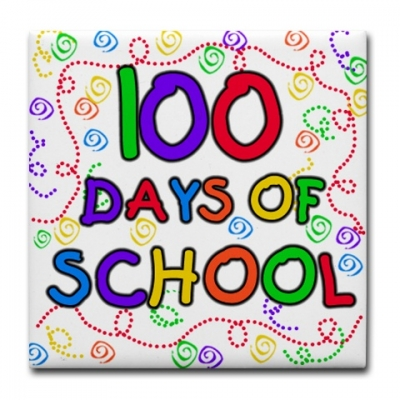 100 day clip art jpg black and white download 100th Day Of School Clipart - Clipart Kid jpg black and white download