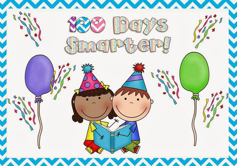 100 day clip art image free stock The Book Bug: Celebrating 100 Days of School image free stock