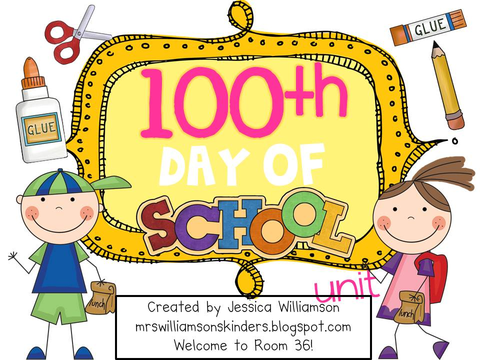 100 day clip art banner freeuse 100th Day Of School Clipart - Clipart Kid banner freeuse