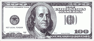 100 dollar bill clipart black and white banner library Bill clipart 100 dollar, Bill 100 dollar Transparent FREE for ... banner library