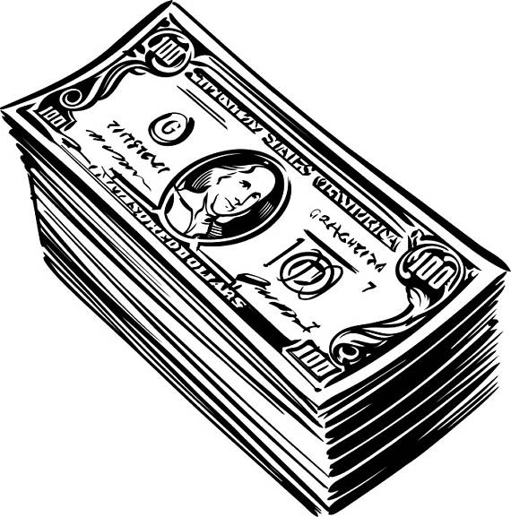 100 dollar bill clipart black and white royalty free library 100 Dollar Bill Clipart | Free download best 100 Dollar Bill Clipart ... royalty free library