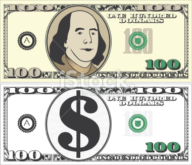 100 dollar bill clipart black and white clipart free stock Free 100 Dollar Bill Cliparts, Download Free Clip Art, Free Clip Art ... clipart free stock