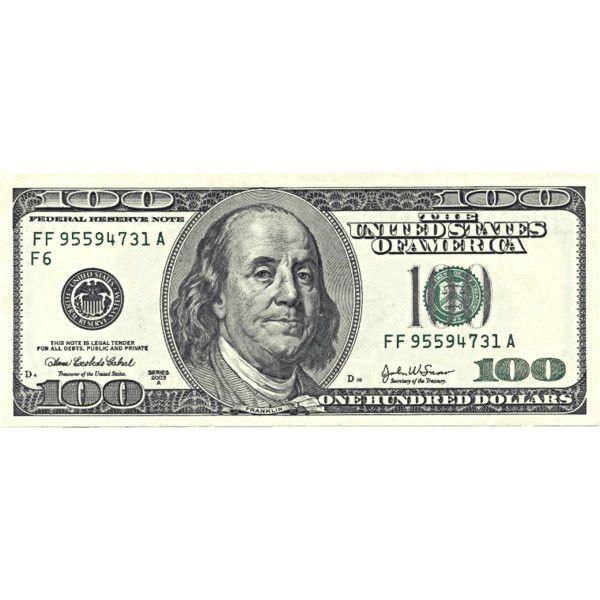 Hundred dollar bills clipart svg black and white US hundred dollar bill - public domain clip art image @ wpclipart ... svg black and white