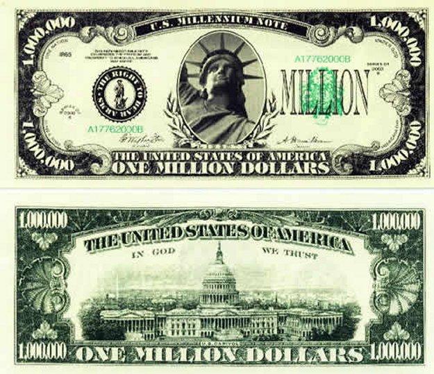 100 dollar cutout clipart png royalty free download Million Dollar Bill Clipart png royalty free download