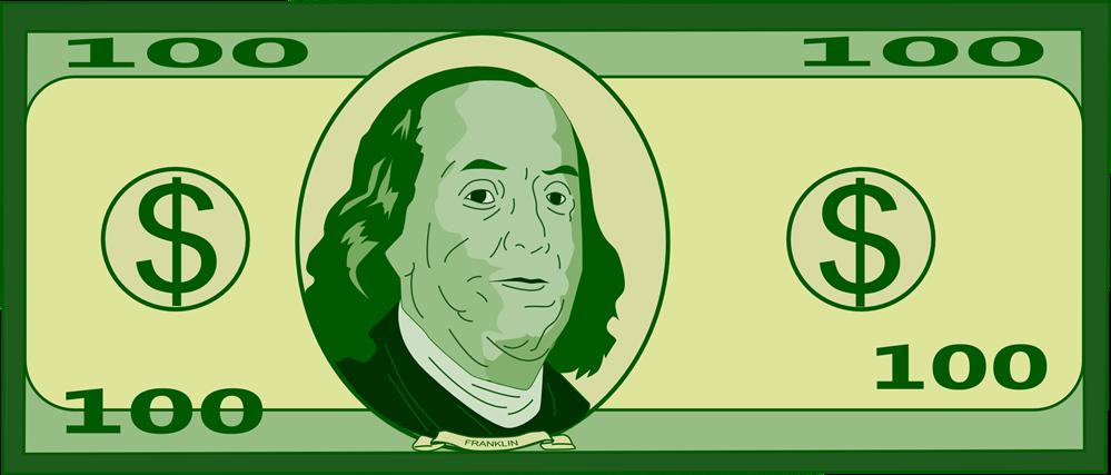 100 dollar cutout clipart jpg freeuse stock Free $100 Bil Cliparts, Download Free Clip Art, Free Clip Art on ... jpg freeuse stock