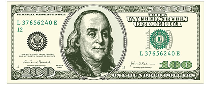 100 dollar cutout clipart graphic download 1 Million Dollar Bill Cutout - Clip Art Library graphic download