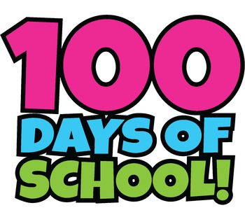 100 free clipart png freeuse library FREE 100 Days of School Clipart / Happy 100th Day of School Clip Art ... png freeuse library