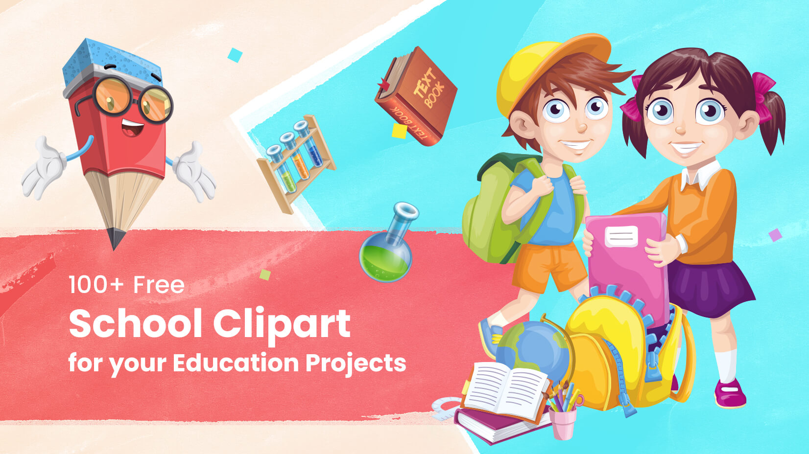 100 free clipart clip art royalty free stock 100+ Free School Clipart for your Education Projects | GraphicMama Blog clip art royalty free stock