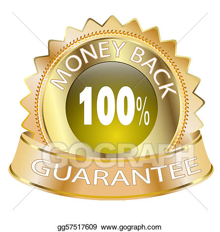 100 money back guarantee clipart picture free download Stock Illustrations - Money back guarantee. Stock Clipart gg57517609 ... picture free download