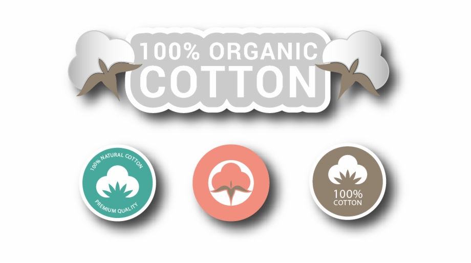 100 organic clipart banner royalty free Organic, Natural & Cotton Made Products - 100% Organic Cotton Logo ... banner royalty free