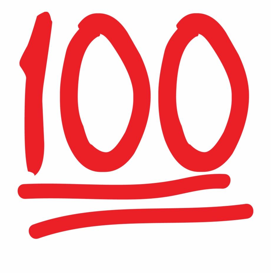 100 percent clipart transparent library 100 Emoji Symbol 100 Emoji At Xvgf9c Clipart - 100 Percent Emoji ... transparent library