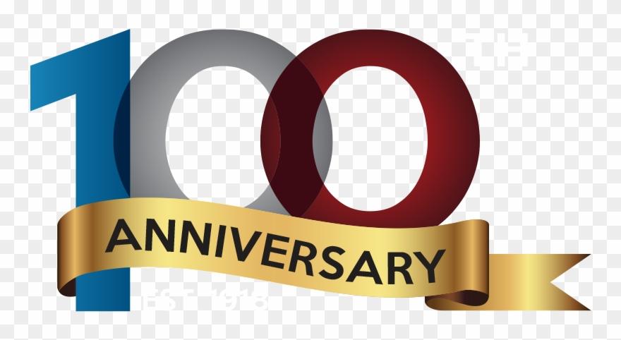 100 year anniversary clipart image royalty free stock 100 Years Logo - Anniversary Logo Transparent 100 Clipart (#1631762 ... image royalty free stock