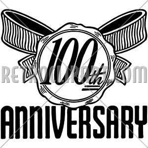 100 year anniversary clipart picture library 100th Anniversary, RetroClipArt.com picture library