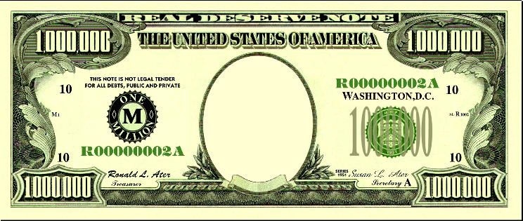 Dollar bill template clipart picture Free Blank Dollar Bill, Download Free Clip Art, Free Clip Art on ... picture