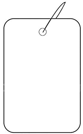 1000 price tag clipart vector royalty free stock Amazon.com: Set of 1000 New Retail White Strung Plain Price Tag 1.25 ... vector royalty free stock