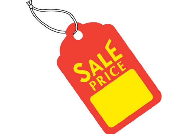 1000 price tag clipart
