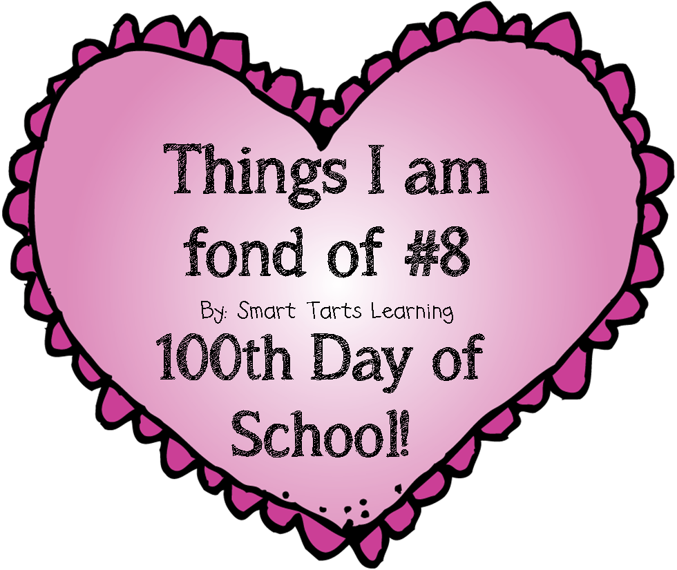 100th day of school clipart svg library SmartTartsLearning: Things I am fond of #8 ... 100th Day of School! svg library