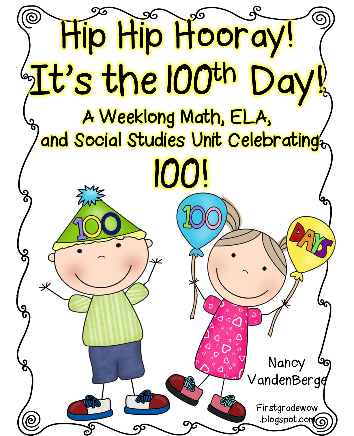 100th day of school clipart picture library 100th Day!!! It's Almost Here!! | First Grade Wow | Bloglovin' picture library