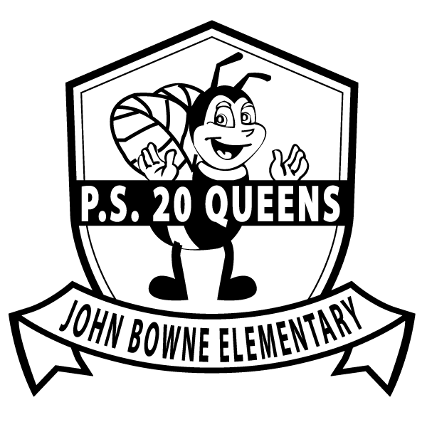 Elementary school clipart black and white svg transparent download Home Page - P.S. 20Q John Bowne Elementary svg transparent download
