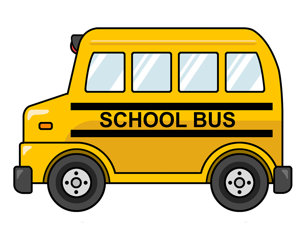 Free clipart of school bus banner transparent library 100th day of school clipart image | ClipartMonk - Free Clip Art Images banner transparent library