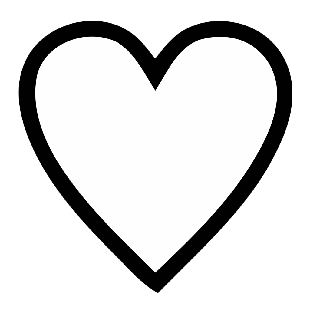 1024x1024 transparent clipart svg black and white Heart Png Images With Transparent Background   Free download best ... svg black and white