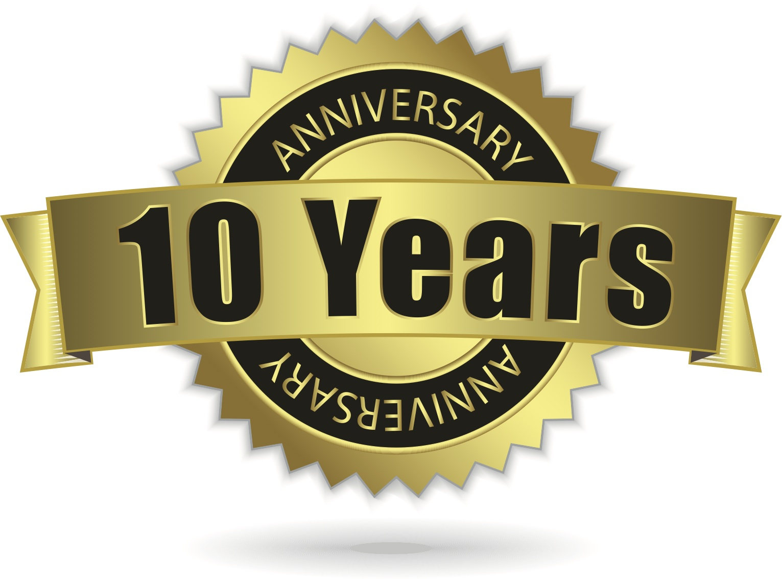 10th anniversary clipart free vector royalty free download Free 10th Anniversary Cliparts, Download Free Clip Art, Free Clip ... vector royalty free download