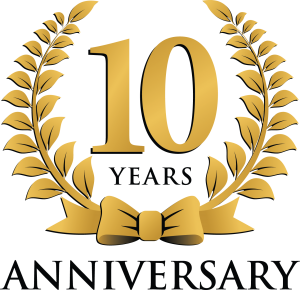 10th anniversary clipart free clip black and white happy 10th anniversary clipart 95442 - Q & A Funky Monkey Tours ... clip black and white