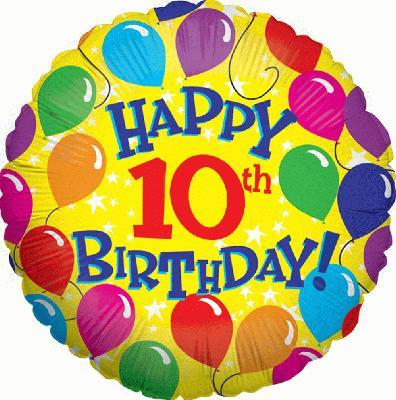 Clipart 10th birthday picture free library 10th birthday clipart » Clipart Portal picture free library