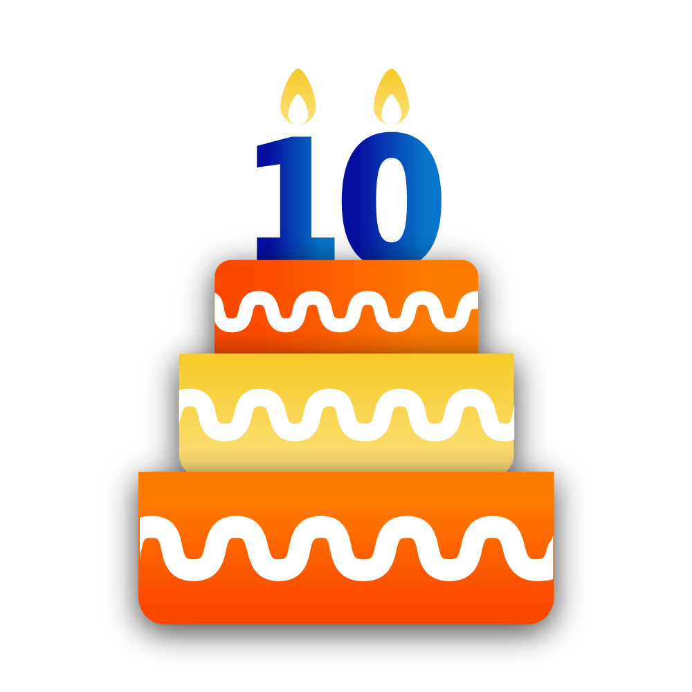 Clipart 10th birthday clipart free stock It\'s BBM\'s Birthday, But The Gift\'s For You clipart free stock