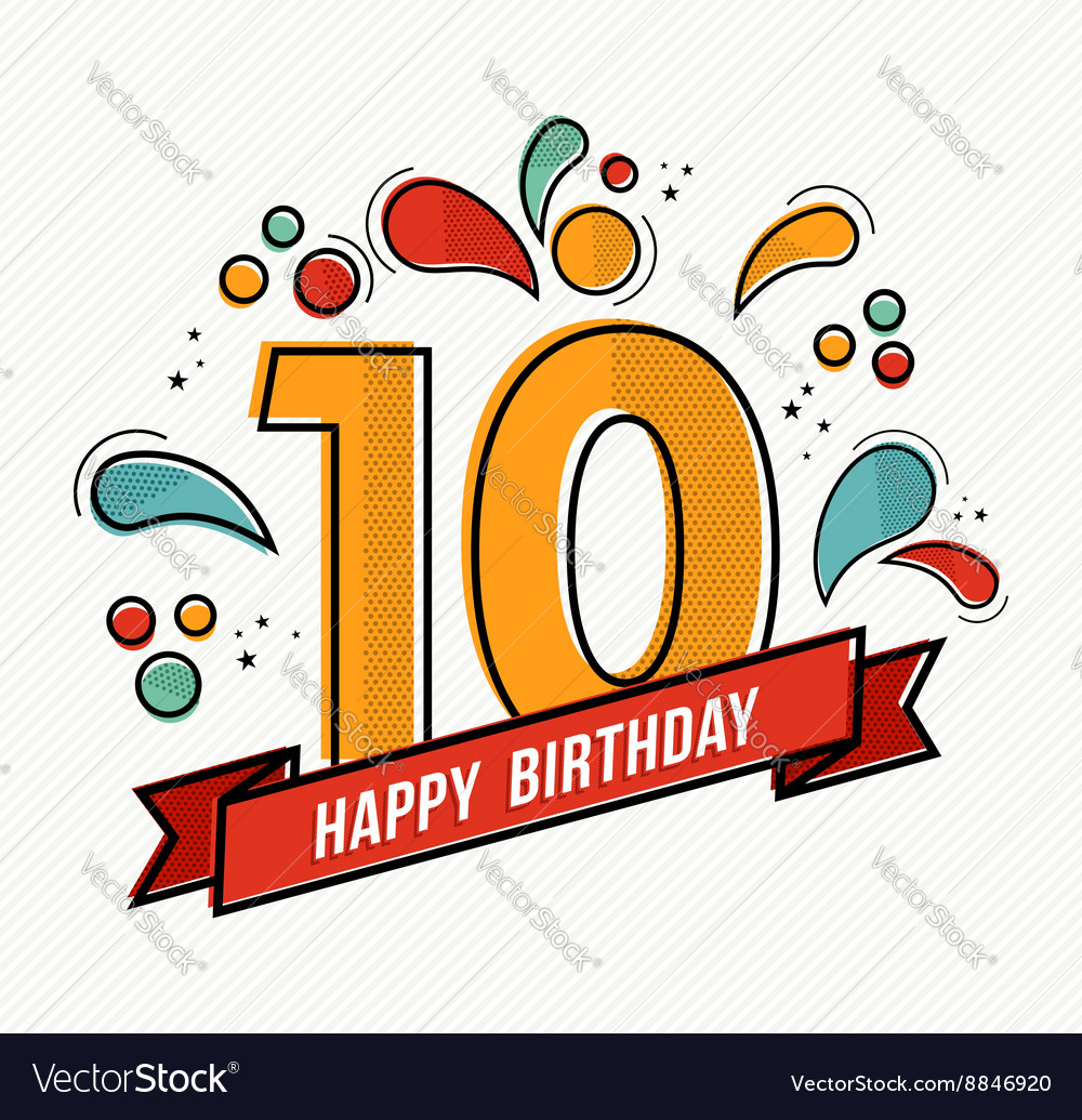 Library of 10th birthday logo clip art freeuse download ...