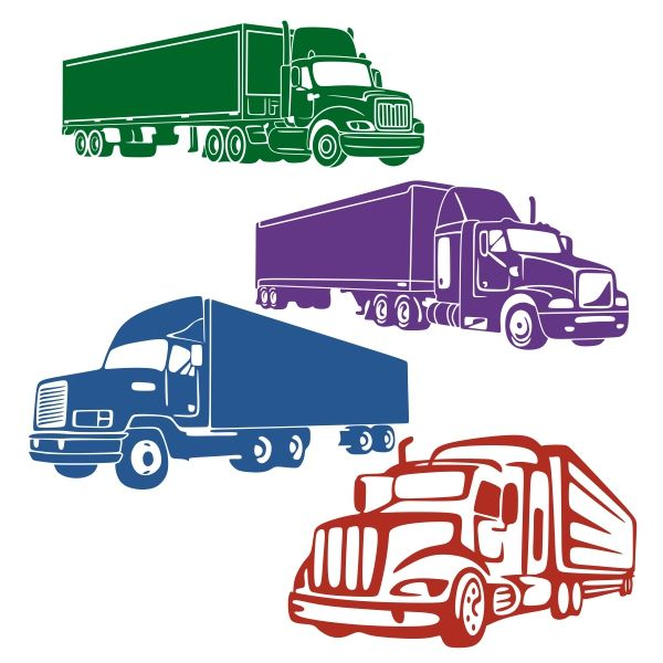 10-wheeler truck sideview clipart jpg freeuse download Pin by CuttableDesigns on Transportation | Cutting tables, Truck ... jpg freeuse download