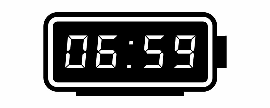 11 45 digital clock clipart picture freeuse Digital Clock Png - Digital Alarm Clock Icon Png Free PNG Images ... picture freeuse