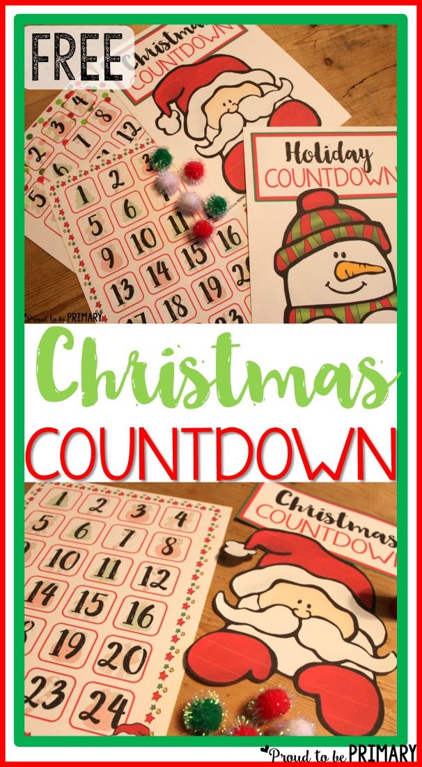 11 days until christmas clipart picture royalty free download Christmas Holiday Countdown: Anticipating Santa | Christmas Crafts ... picture royalty free download