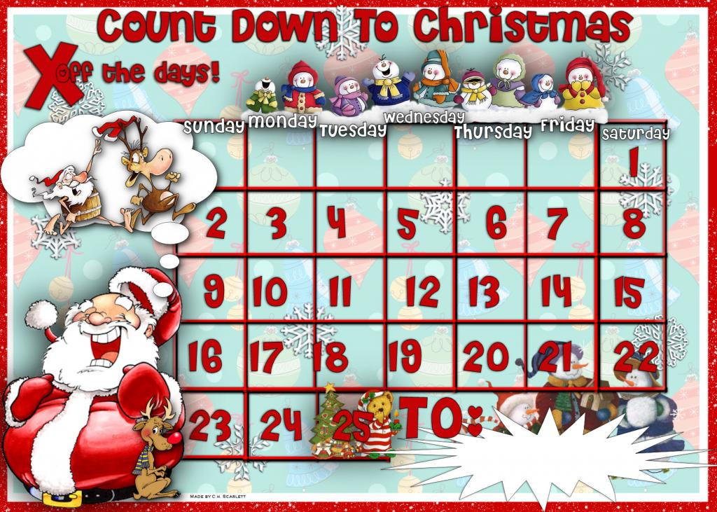 11 days until christmas clipart