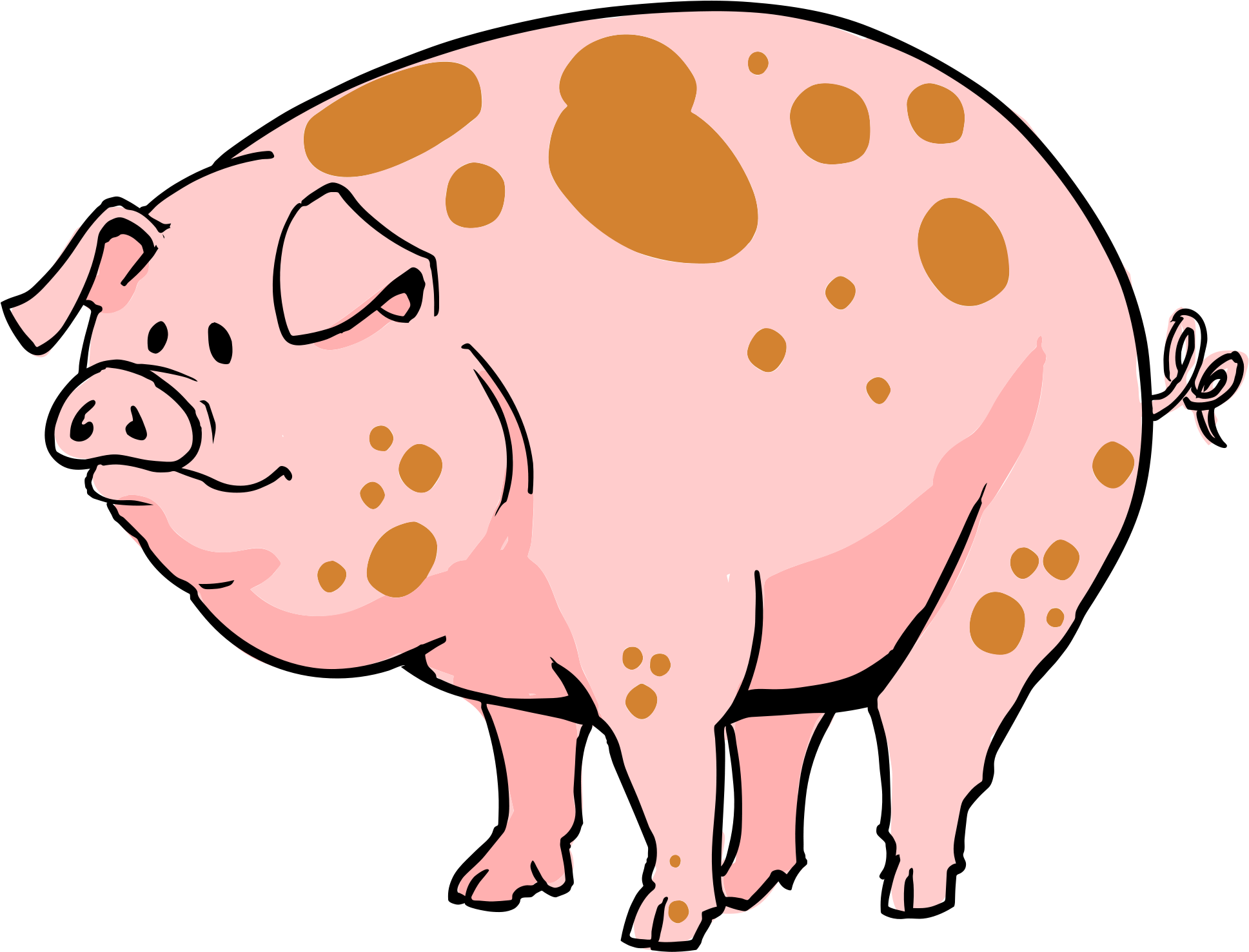 11 pigs clipart image library stock Pig Cartoon - Pig Cartoon Transparent Clipart - Full Size Clipart ... image library stock