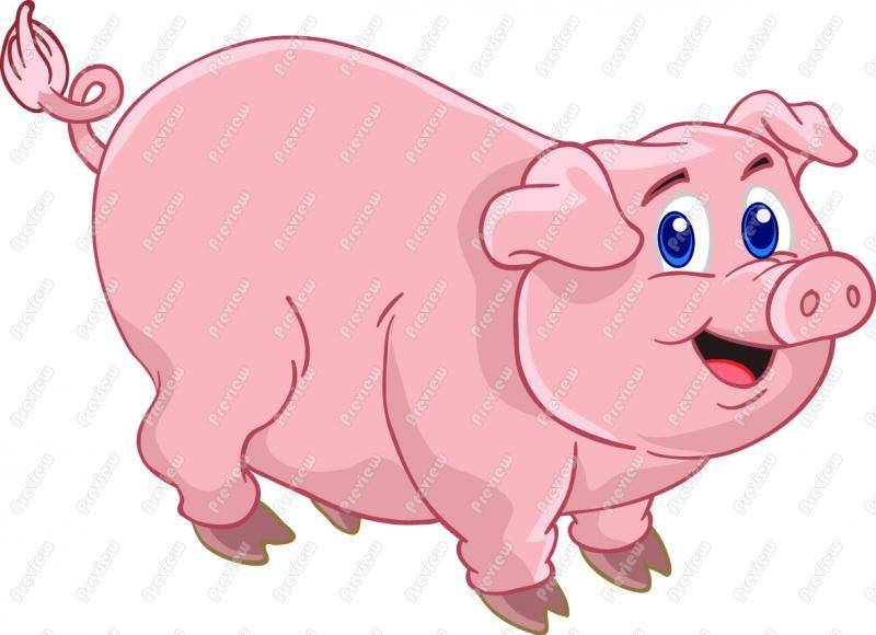 11 pigs clipart svg royalty free download Animated Clip Art Free | Cartoon Pig Clip Art - Cute Pig | Shady ... svg royalty free download