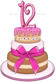 12 birthday cake twelve candles clipart graphic royalty free download 1050 Best Birthday Clips images in 2019 | Happy birthday quotes ... graphic royalty free download
