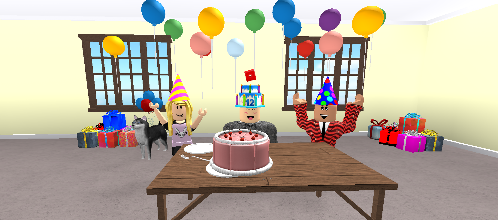 12 birthday cake twelve candles clipart clipart library stock Happy 12th Birthday, Roblox! - Roblox Blog clipart library stock