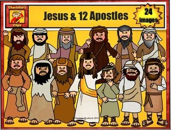12 disciple clipart clip art free Download 12 apostles clipart Apostles Disciple Clip art   Bible ... clip art free