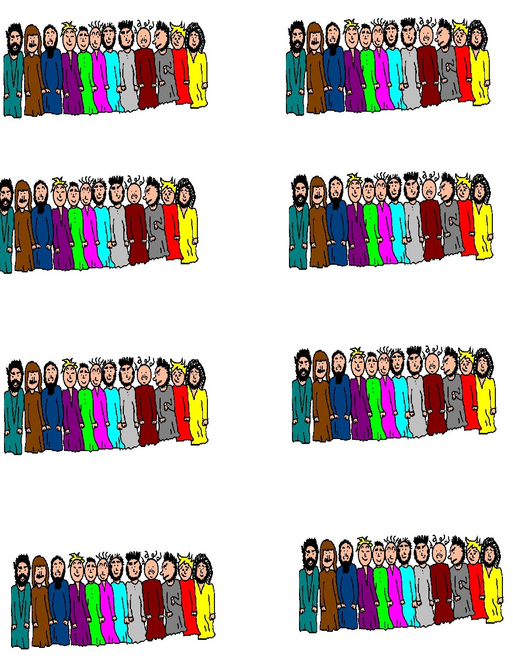 12 disciple clipart clip art freeuse stock Free Disciples Cliparts, Download Free Clip Art, Free Clip Art on ... clip art freeuse stock