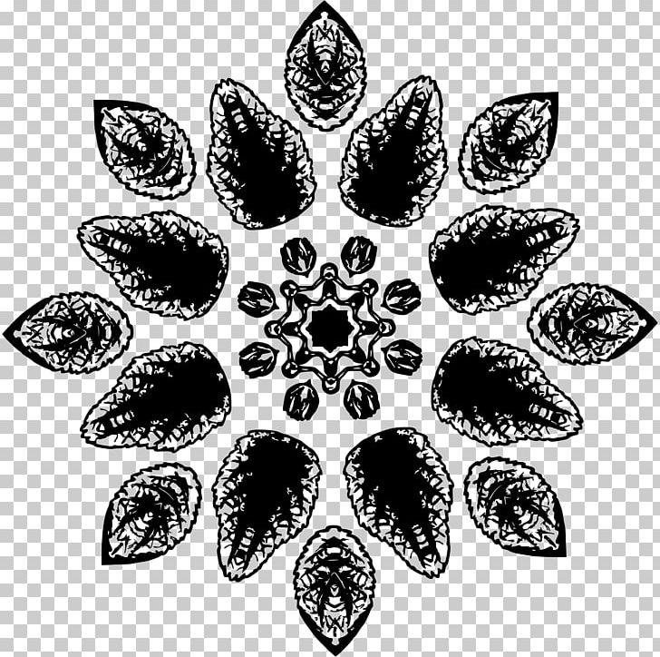 12 leaf flower clipart black and white jpg library stock Leaf White PNG, Clipart, Black And White, Floral, Flower Clipart ... jpg library stock