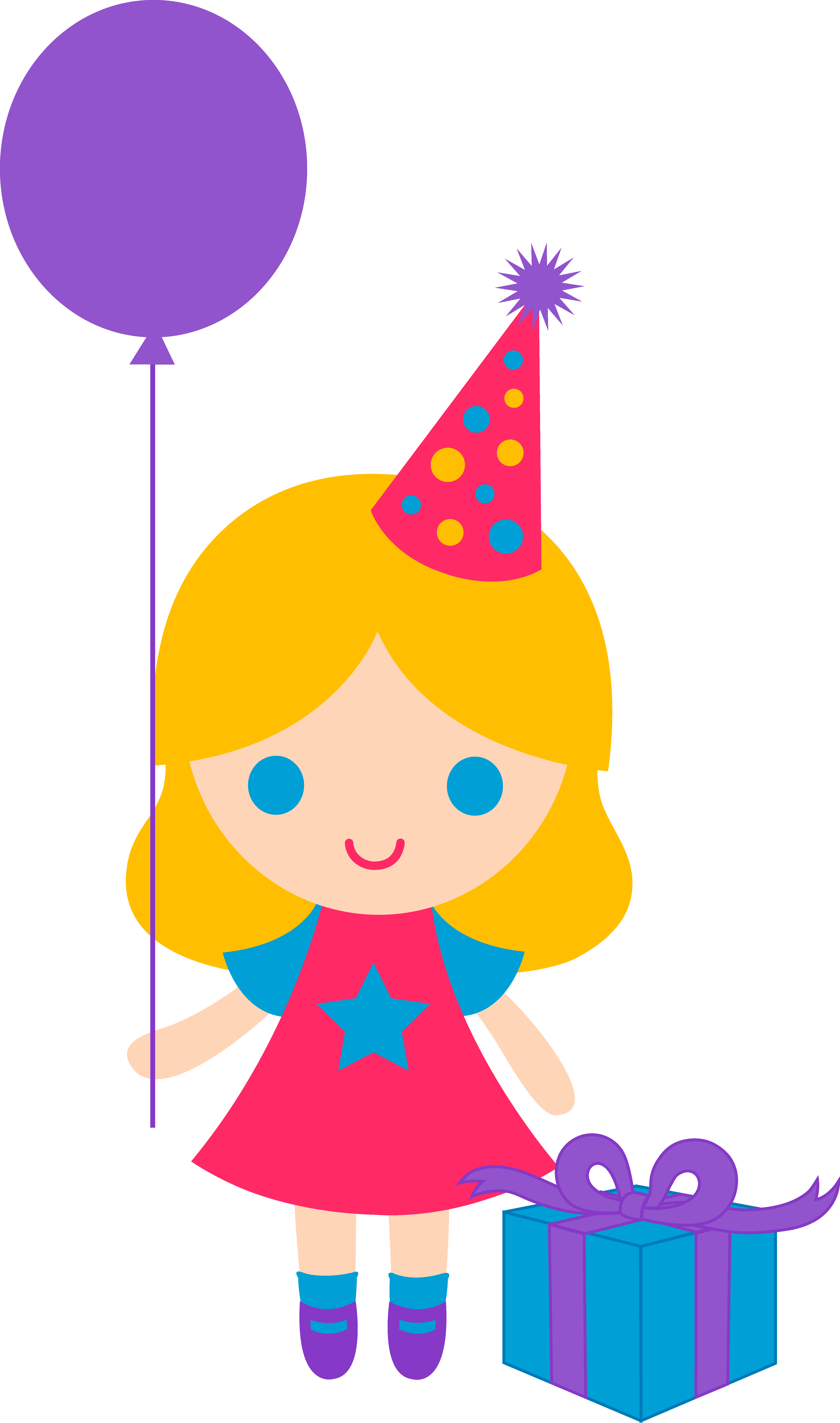 Party girl clipart clipart black and white library Happy Birthday Boy Clipart | Free download best Happy Birthday Boy ... clipart black and white library