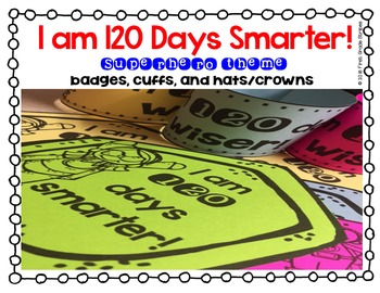 120 days smarter clipart clipart free download I am 120 Days Smarter! Badge, Cuff, and Hat/Crown clipart free download